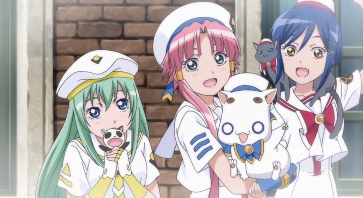 Aria the Animation S1 Sub Indo Episode 01-13 End BD